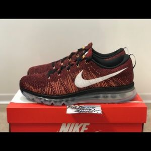 NEW Nike Air Max Flyknit Red Running Vapormax 720